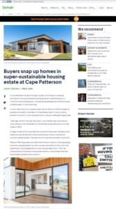 The Cape, SeaStar, Carl Talbot Builders